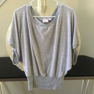 Anthropologie Postmark brand terry banded top
