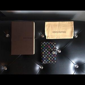 Louis Vuitton Multicolor PM Agenda Noir