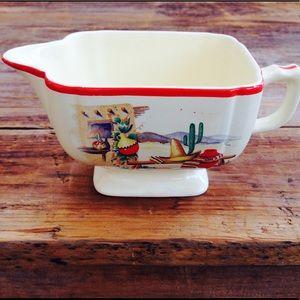 Vintage Homer Laughlin (1950s) Mexicana Creamer