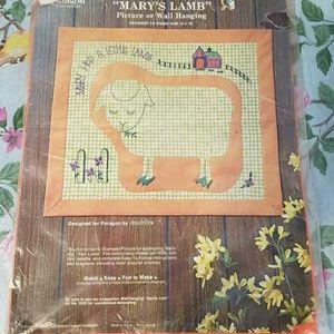 Vintage Mary Had A Little Lamb Kit