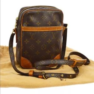 Authentic Louis Vuitton Danube Crossbody Bag