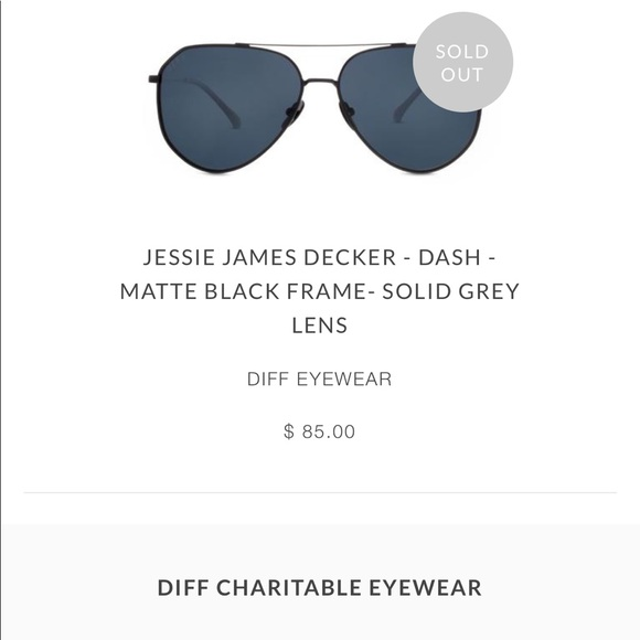 45041308c5422 Diff Eyewear Accessories - Diff x Jessie James Decker Polarized Sunglasses