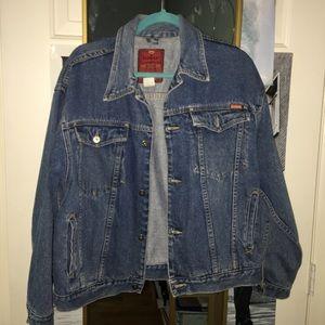 Oversized Vintage Denim Jacket Unisex