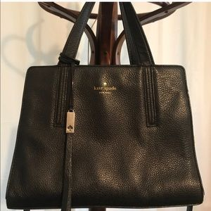 Black Kate Spade Bag with long strap