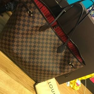 Authentic Louis Vuitton Neverfull GM tote