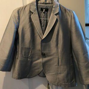 Talbots Silk Jacket