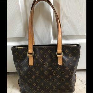 Louis Vuitton Cabas Mezzo Tote Bag SD0035