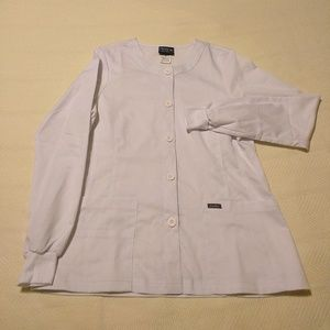 Sanibel Scrubs Long Sleeve Jacket