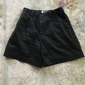 Black woman's shorts