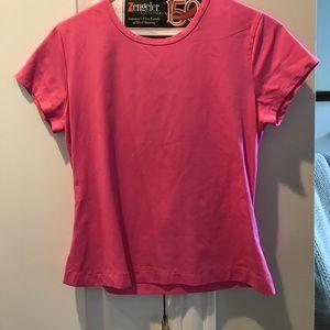 Pink top!