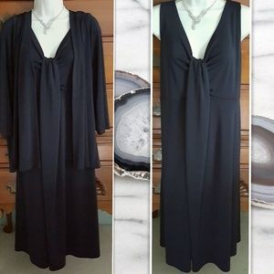 Talbots Little Black Dress and Jacket