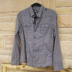 G-STAR fitted button up shirt NWOT