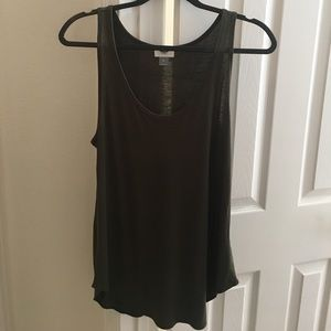NWT Old Navy Olive Tank