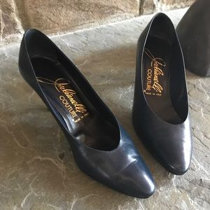 Vintage Julianelli Couture leather heels