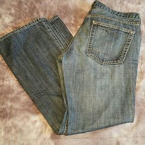 J CREW Size 8 Short Jeans Black Label Medium Blue