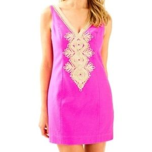 WORN Once Lilly Pulitzer Junie Dress Berry Sangria