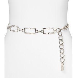 MICHAEL KORS chain link silver belt💥💥