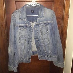 Gap vintage denim jacket, XL