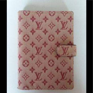 Louis Vuitton Cherry Mini Lin Monogram Agenda💕