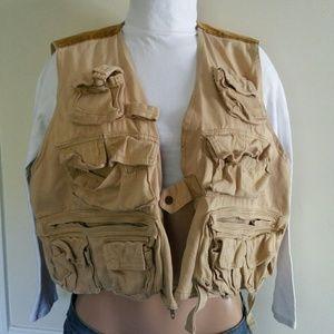 Distressed Utility Vest