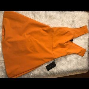 Zara Orange NWT Dress