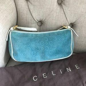 Celine blue purse