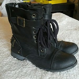 Dolce Vita Motorcycle Boots - 7.5