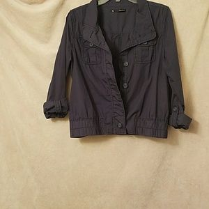 Maurices Blue Jacket LG