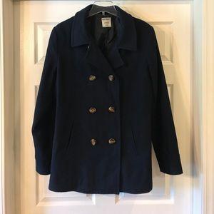 Old Navy Navy Blue Peacoat XL