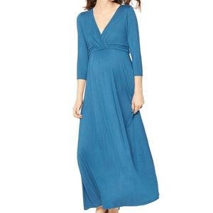 A Pea in the Pod Maternity Maxi Dress Rachel Zoe L