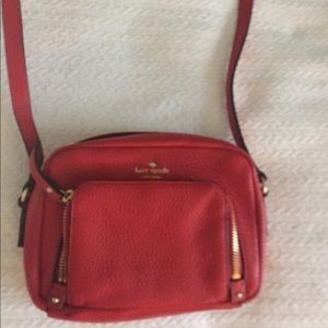 Kate spade red cross body