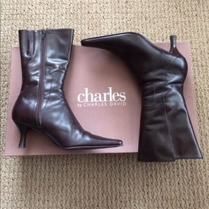 Charles by Charles David Leather Boots