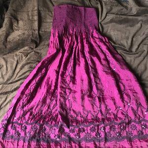 Dresses & Skirts - High waisted one size purple skirt