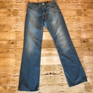 Lucky Brand Boot Cut Frayed Jeans