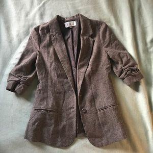 BB Dakota Woven Wool Blazer