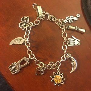 James Avery Sterling Charm Bracelet