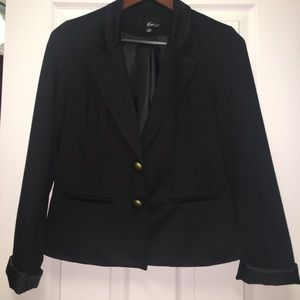 Forever 21 black blazer sz L COMFY!