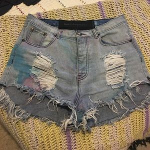 One Teaspoon colorful shorts