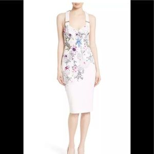 Ted Baker Scarlin Passion flower dress 3=8-10 nwot
