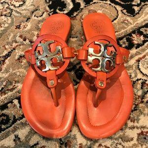 🍊Orange Tory Burch Sandals 🍊