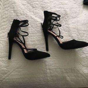 Black heels w/ straps