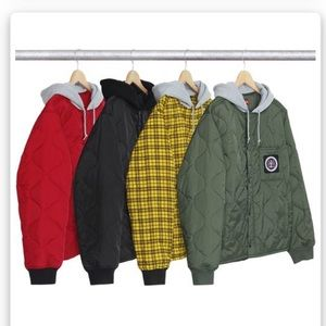Other - Quilted Liner Hooded Jacket