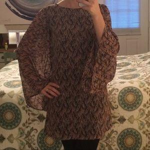 Wide Sleeve Tunic
