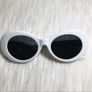 Kurt Cobain oval sunglasses