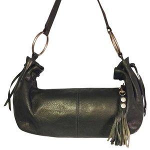 Hobo International green leather hobo handbag