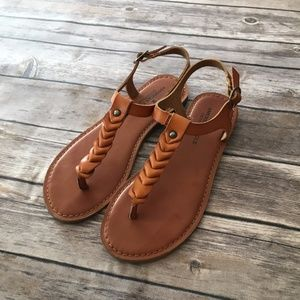 American Eagle Braided Thong Sandal