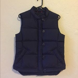 J. Crew Puffy Vest, Cutest Details!