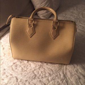 Louis Vuitton speedy bag - vanille color