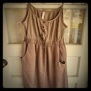 Xhiliration dress with pockets
