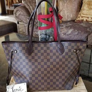 Authentic Louis Vuitton Neverfull MM Ebene